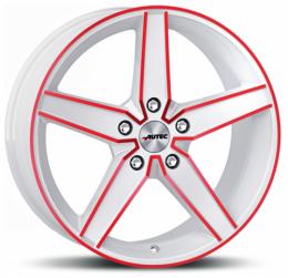 Autec - Delano (weiß rot elox)