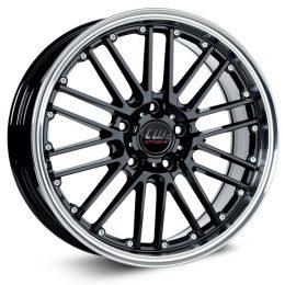 Borbet - CW2 (Black Rim Polished)