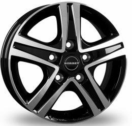 Borbet - CWD (black glossy Polished)
