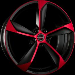 Borbet - S (Black Red Matt)