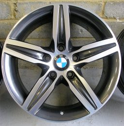 BMW OEM - 379 (Dark Grey Diamond Cut)