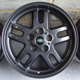 Land Rover OEM - 5 Twin Spoke (Dark Anthracite Grey)