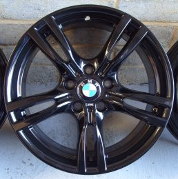 BMW OEM - 400M (Gloss Black)