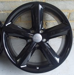 Audi OEM - 5 Spoke 1 (Gloss Black)