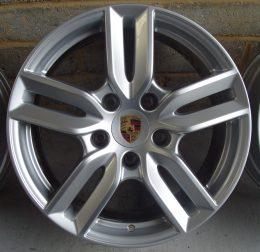 Porsche OEM - 5 Twin Spoke (Silver)
