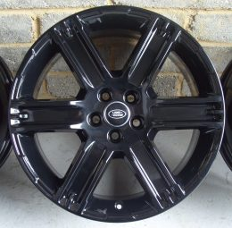 Land Rover OEM - 6 Spoke (Gloss Black)