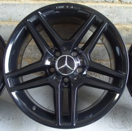 Mercedes OEM - AMG 5 Twin Spoke (Gloss Black)