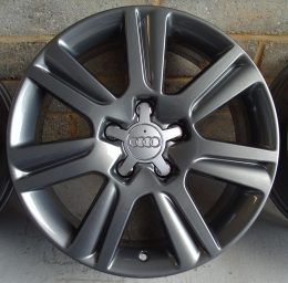 Audi OEM - 7 Arm Spoke (Anthracite Grey)