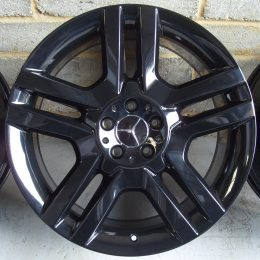 Mercedes OEM - 5 Twin Spoke (Gloss Black)