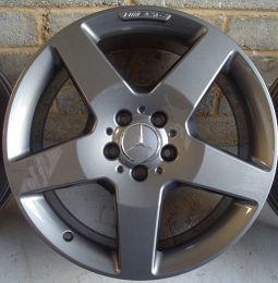 Mercedes OEM - AMG 5 Spoke (Anthracite Grey)