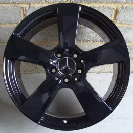 Mercedes OEM - 5 Spoke (Gloss Black)