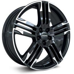 Ronal - R58 (Black Rim Cut)
