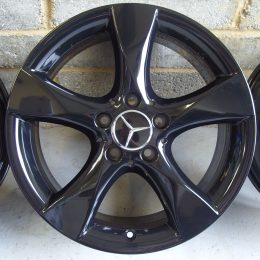 Mercedes OEM - 5 Spoke 1 (Gloss Black)