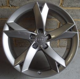 Audi OEM - 5 Arm Y Spoke (Tinted Chrome)