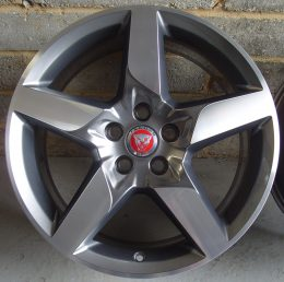 Jaguar OEM - 5 Spoke (Grey Diamond Cut)