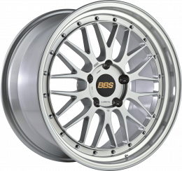 BBS - Le-Mans (Forged Split Rim) LM (Brilliant Silver with Polished Rim)