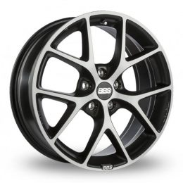 BBS - SR (Dark Grey With Polished Face)