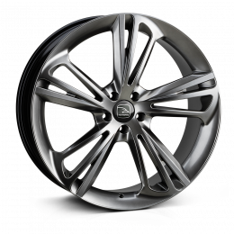 Hawke Wheels - Aquila (Hyper Black (Dark Silver))
