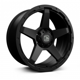 Hawke Wheels - Eiger (Matt Black)