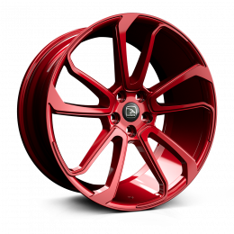 Hawke Wheels - Falkon (Cherry Red)