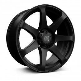 Hawke Wheels - Peak XD (Matt Black)