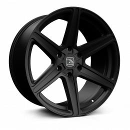 Hawke Wheels - Ridge (Matt Black)