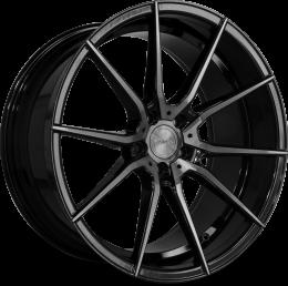 Riviera - RV193 (Black Polished Dtint)