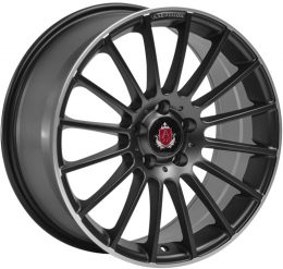 AXE - EX23 (Satin Black & Polished Rim)