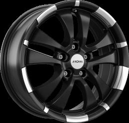 Ronal - R59 (Matt Jet Black Polished Lip)