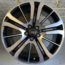 Land Rover OEM - 15 Spoke (Black Diamond Cut)