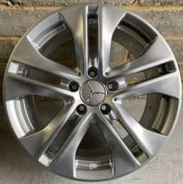 Mercedes OEM - 5 Twin Spoke 1 (Silver)