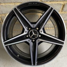 Mercedes OEM - AMG 5 Spoke (Black Diamond Cut)