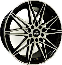 AC Wheels - Huira (Black Polished)