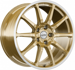 Ronal - SC1 (Racing Gold Rim Cut)