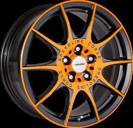Ronal - SL2 Marmora MCR (Racing Orange Matt Black)